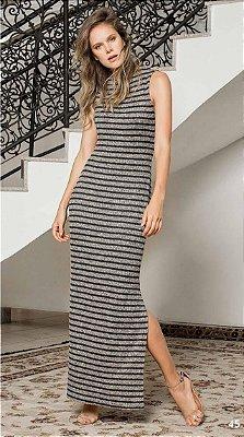 Vestido Chanel Fendas Laterais