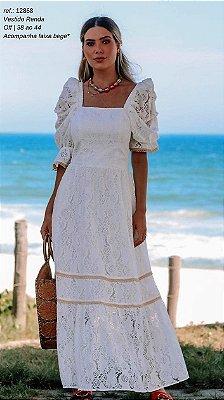 Vestido Renda Longo