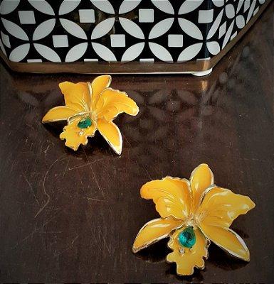 Brinco Orquídea
