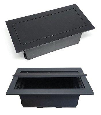Caixa Tomada Para Conexões Em Mesas Sem Conexão QMF6-M