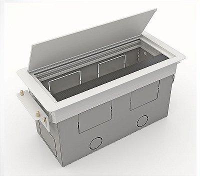 Caixa De Tomadas BASIC-M Colarinho Em Alumínio Completa