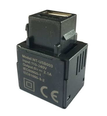 Tomada USB Carregador 5V - 2.1A