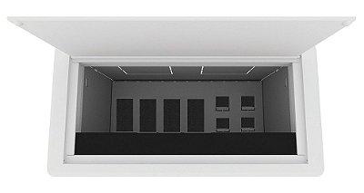 Caixa De Tomada BASIC-M4T Colarinho Em Alumínio