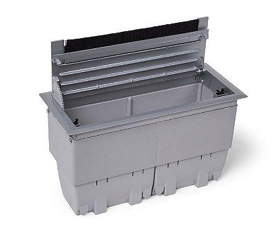 Caixa de Conexões Para Mesas de Reuniões Em ABS - QM17AB-M1