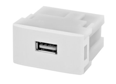 Modulo USB Carregador 5V - 1.5A Para Espelho 4x2 e Caixa de Mesa