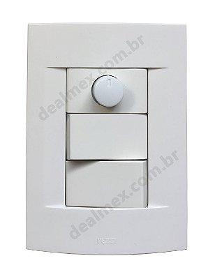 Interruptor Simples e Paralelo Com Dimmer Rotativo - SH15
