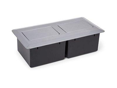 Caixa de Tomada Para Mesas de Reuniões - QMP6-M