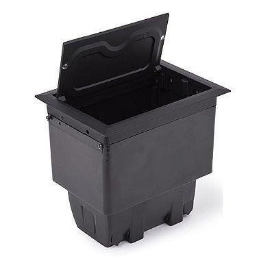 Caixa de Tomada Para Mesa 4 Blocos Em Alumínio - QM40-M