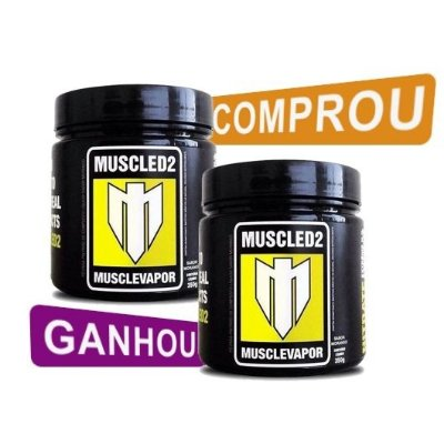Musclevapor (350g) - Muscled2 [LEVE 2 PAGUE 1]