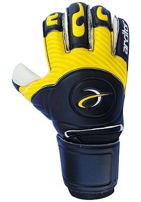 Luvas de Goleiro Arcitor Havik Rollfinger Finger Protection (Preto Amarelo) Extended AW Elite