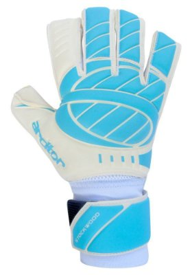 Luvas de Goleiro Arcitor Stockwood Hybrid Roll/Flat Special (Azul Branco) SCF Elite