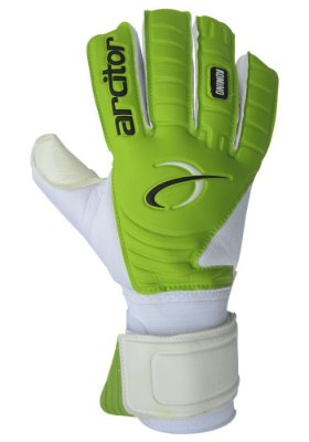 Luvas de Goleiro Arcitor Komino Negative (Branco Verde) SCF Elite