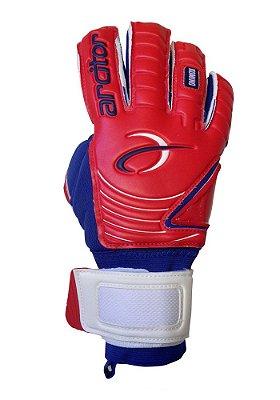 Luvas de Goleiro Arcitor Komino Negative Finger Protection (Vermelho Azul) SCF Elite ZN