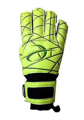 Luvas de Goleiro Arcitor Matka Hybrid Finger Protection (Amarelo Fluo Verde) AP PRO
