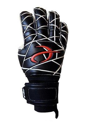 Luvas de Goleiro Arcitor Matka Hybrid Finger Protection (Preto Branco Vermelho) XW Elite