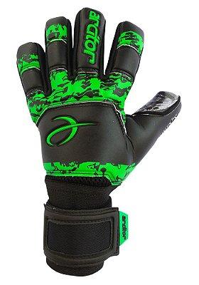 Luvas de Goleiro Arcitor Carancho Negative (Preto Verde) SCF Elite