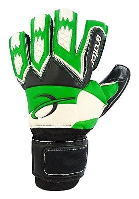 Luvas de Goleiro Arcitor Guapo Negative Finger Protection (Verde Preto) SCF Elite