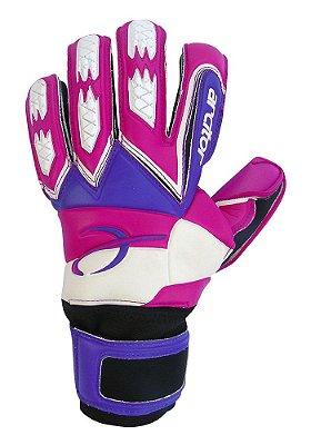 Luvas de Goleiro Arcitor Guapo Negative Finger Protection (Rosa Roxo) AP PRO