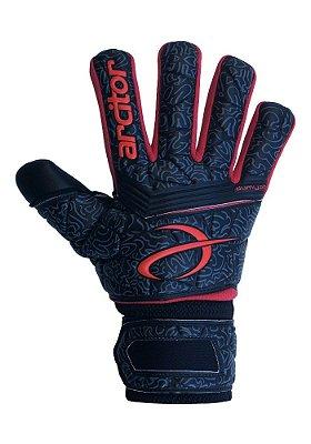 Luvas de Goleiro Arcitor Dumyat Negative Finger Support (Preto Vermelho) D-SOFT 3.5mm
