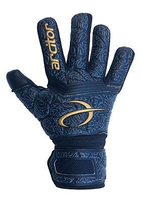 Luvas de Goleiro Arcitor Dumyat Negative Finger Support (Preto Dourado) D-SOFT 3.5mm