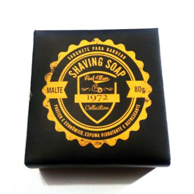 Sabonete para barbear Fuel4Men 80g - Shaving Soap