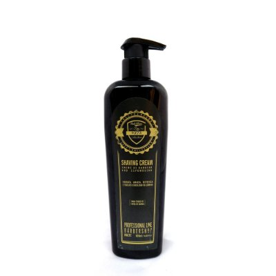 Creme de barbear - Shaving Barber Shop Profissional Fuel4Men 500ml