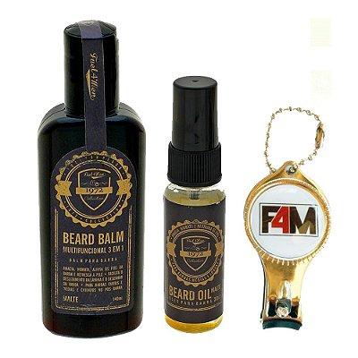 Kit  Balm hidratante + Óleo de Barba Fuel4Men