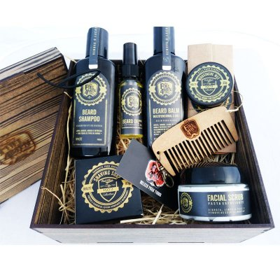 Kit Box Rustico Fuel4Men para barba