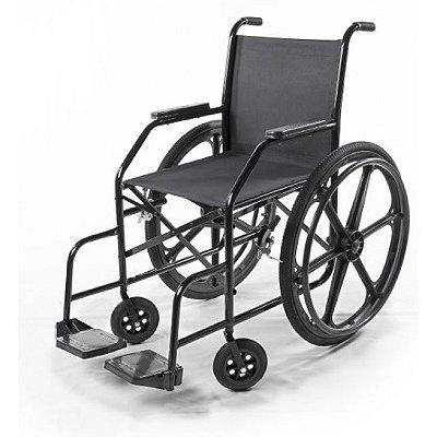Cadeira de Rodas Modelo PL001 com Pneu Maciço
