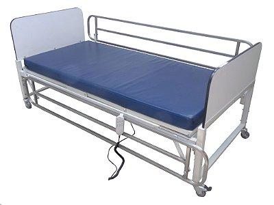 Locação Cama Hospitalar 2 movimentos Elétrica/ Com Colchão Ortopédico