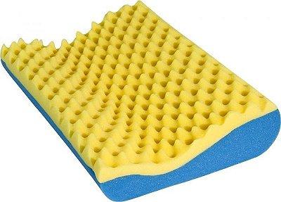 Travesseiro Detalhes Pillow Cervical - Luckspuma