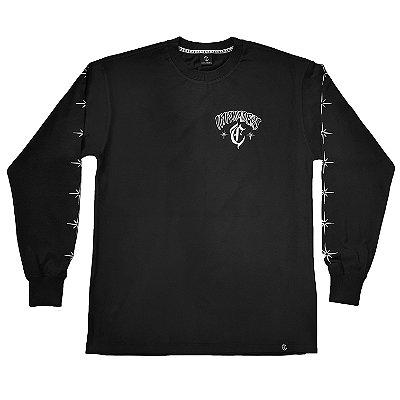 Camiseta Manga Longa INKVADERS preta