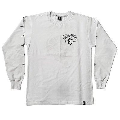 Camiseta Manga Longa INKVADERS branca