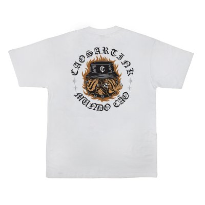 Camiseta MUNDO CÃO branca