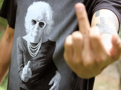 Tshirt Fuck off!