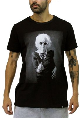 Camiseta Masculina Preta Lady