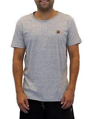 Camiseta Masculina Cinza Jerley