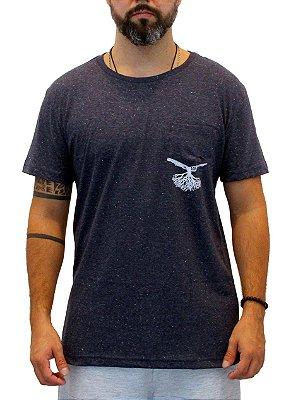 Camiseta Masculina Azul Marinho Radix