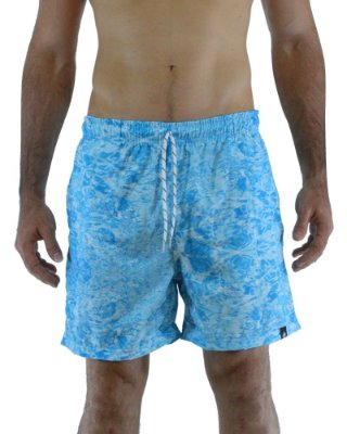 Short Beach Azul Aqua