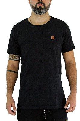 Camiseta Masculina Preto Blasgy