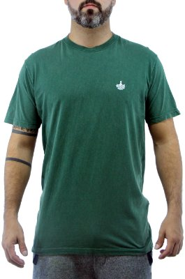 Camiseta Masculina Estonada Verde Darraíz