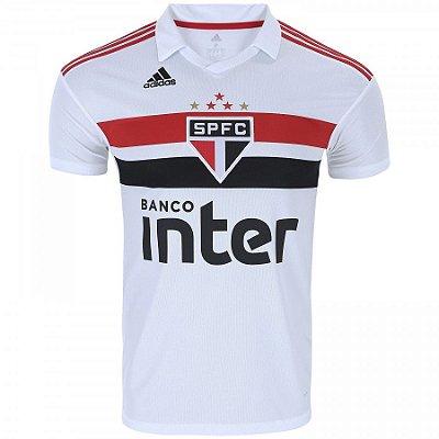 Camisa do São Paulo I 2018 Adidas - Masculina