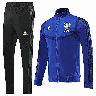Conjunto Manchester United 19/20 Adidas - Masculina