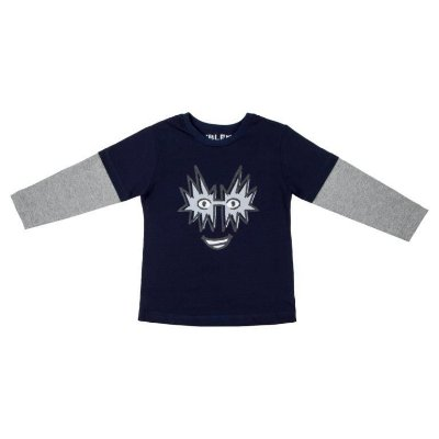 Camiseta Masculina ML Indigo Kiss