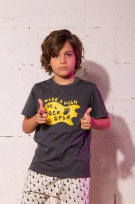 Camiseta Make a wish - Be a rock Star