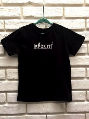 Camiseta Rock It Preta