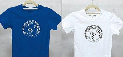 Camiseta Jogador de Futebol - Branco