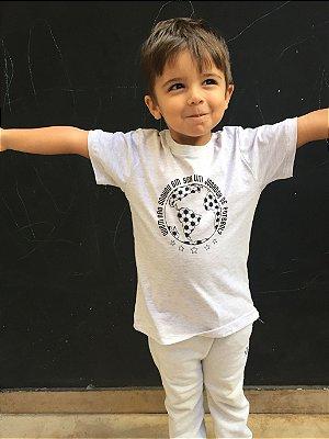 Camiseta Jogador de Futebol - Mescla