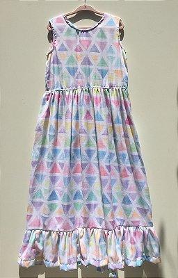 Vestido Longo Rustic Triângulo