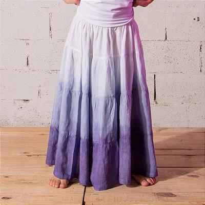 Saia Longa Tie Dye Infantil